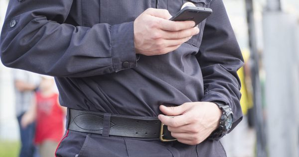 police cell phone search
